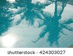 Palm Reflex In A Pool