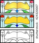 Stained Glass Design In Full...
