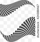 checkered background design... | Shutterstock .eps vector #424388467