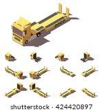 vector isometric icon...   Shutterstock .eps vector #424420897