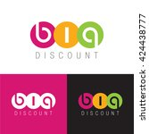 big discount colorful symbol | Shutterstock .eps vector #424438777