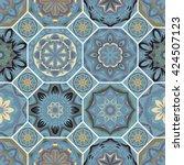 Gorgeous Floral Tile Design....