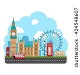 illustration design poster for... | Shutterstock .eps vector #424548607