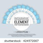 element for infographic ...   Shutterstock .eps vector #424572007