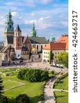 Wawel Cathedral On Wawel Hill...