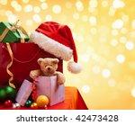 Christmas Shopping Bag With...