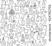 seamless pattern withs...   Shutterstock .eps vector #424782703