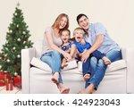 couch. | Shutterstock . vector #424923043