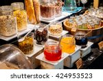 selective focus point on... | Shutterstock . vector #424953523