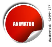 animator  3d rendering  red...