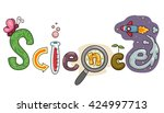 typography illustration... | Shutterstock .eps vector #424997713