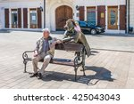 bratislava  slovakia   may 7 ... | Shutterstock . vector #425043043