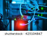 storage servers in data room... | Shutterstock . vector #425104867