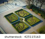 park by oslo city hall | Shutterstock . vector #425115163