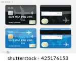credit cards | Shutterstock .eps vector #425176153