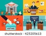 a vector illustration of... | Shutterstock .eps vector #425205613
