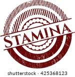 stamina grunge stamp | Shutterstock .eps vector #425368123