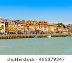 trouville  france   jun 7  2015 ... | Shutterstock . vector #425379247