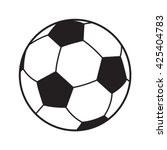 Soccer Ball Icon. Soccer Ball...