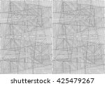 abstract seamless geometrical... | Shutterstock . vector #425479267