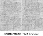 abstract seamless geometrical... | Shutterstock . vector #425479267