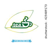 tea cup icon vector | Shutterstock .eps vector #425489173