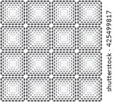 vector seamless pattern.... | Shutterstock .eps vector #425499817