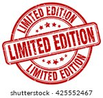 limited edition. stamp | Shutterstock .eps vector #425552467