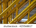 yellow stainless steel | Shutterstock . vector #425568817