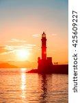 Lighthouse In Old Venetian...