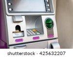 pink atm machine   Shutterstock . vector #425632207