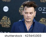 Johnny Depp At The Los Angeles...