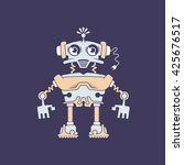 robot   vector illustration | Shutterstock .eps vector #425676517