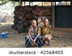 senegal   february 15  girls...   Shutterstock . vector #42568405
