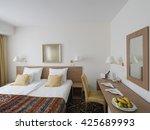 hotel room | Shutterstock . vector #425689993