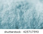 microfiber texture blue towel... | Shutterstock . vector #425717593