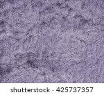Fragment Of Violet Fur Coat As...