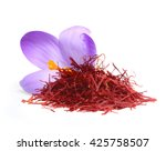 Flower Crocus And Dried Saffro...