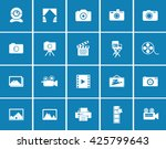 photography icons | Shutterstock .eps vector #425799643