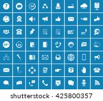 communication icons | Shutterstock .eps vector #425800357
