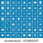 communication icons | Shutterstock .eps vector #425800357