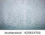 Rain On Glass Abstract...