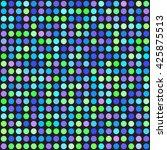 polka dot pattern. seamless... | Shutterstock .eps vector #425875513