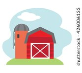 farm vector illustration  | Shutterstock .eps vector #426006133