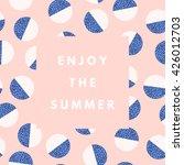 summer hipster boho chic... | Shutterstock .eps vector #426012703