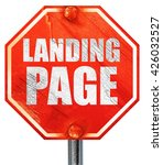 landing page  3d rendering  a...