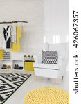 white interior with white... | Shutterstock . vector #426067357