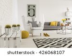 spacious interior wirh... | Shutterstock . vector #426068107