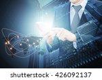 double exposure of professional ... | Shutterstock . vector #426092137