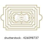 frame set vector | Shutterstock .eps vector #426098737